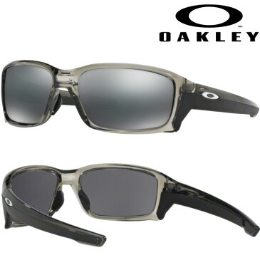 あす楽 OAKLEY オークリー サングラス STRAIGHTLINK (ASIA FIT) BLACK IRIDIUM GREY SMOKE OO9336-01 oak18fw