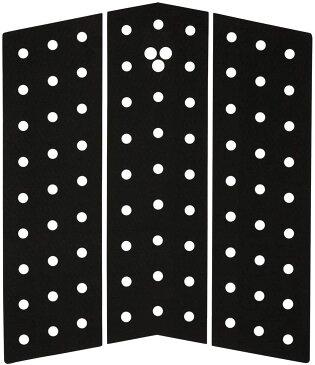 ゴリラ グリップ フロント デッキパッド GORILLA GRIP SKINNY SERIES MID DECK THREE BLACK サーフボード フロント デッキパッド 送料無料