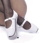BALLET-08 7.5インチ(約19cm) ハイヒールピンヒール パンプス/Pleaserプリーザー DEVIOUSフェティッシュ靴 フェチ SMボンデージ 大きい