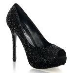 PRESTIGE-165インチ(約13cm)ハイヒールパンプス/PleaserプリーザーDay&Nightパーティー靴シンデレラサイズ大きい【送料無料】