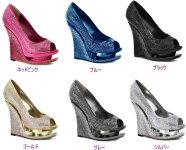 RAZZLE-660RS5.5インチ(約14cm)ハイヒールウェッジソールサンダル/PleaserプリーザーDay&Nightパーティー靴シンデレラサイズ大きい【送料無料】