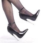 SCREAM-12 6インチ(約15cm) ハイヒールピンヒール パンプス/Pleaserプリーザー DEVIOUSフェティッシュ靴 フェチ SMボンデージ 大きい
