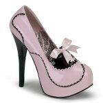 TEEZE-015.5インチ(約14cm)ハイヒールパンプス/PleaserプリーザーBORDELLOパーティードレス靴大きいサイズ【送料無料】