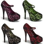 TEEZE-07L5.5インチ(約14cm)ハイヒールパンプス/PleaserプリーザーバーレスクBORDELLOパーティー靴小さい大きいサイズ【送料無料】