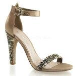 CLEARLY-4364.5インチ(約11.5cm)ハイヒール厚底サンダル/Pleaserプリーザーパーティー靴大きいサイズ【送料無料】