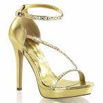LUMINA-264.75インチ(約12cm)ハイヒール厚底サンダル/Pleaserプリーザーパーティー靴大きいサイズ【送料無料】
