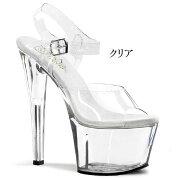 SKY-3087インチ(約18cm)ハイヒールピンヒールミュール厚底サンダル/Pleaserプリーザーパーティードレス靴大きいサイズ【送料無料】