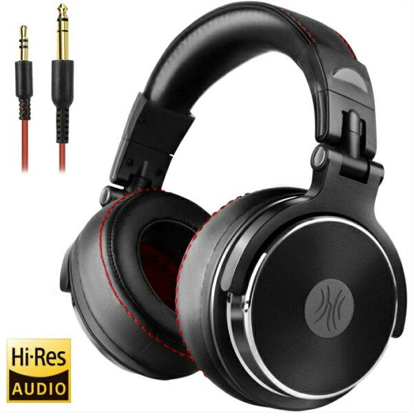 OneOdioDJ用ヘッドホンHi-Resハイレゾモニターヘッドホンプロフェッショナル有線密閉型スタジオ用楽器の練習ミキシングT