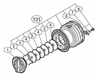 フィッシング, リールパーツ  13C3000HG(03115) (105)