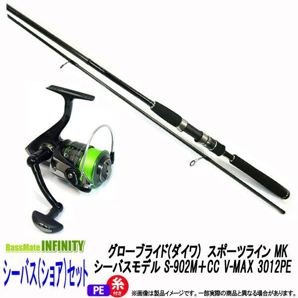 フィッシング, ロッド・竿 PE1.5(130m)()() MK S-902MCC V-MAX 3012PE
