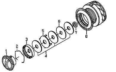 ●ダイワ13セルテート2510R-PE(4960652870467)用純正標準スプール(部品コード128749)【キャンセル及び返品不可商品】【まとめ送料割】