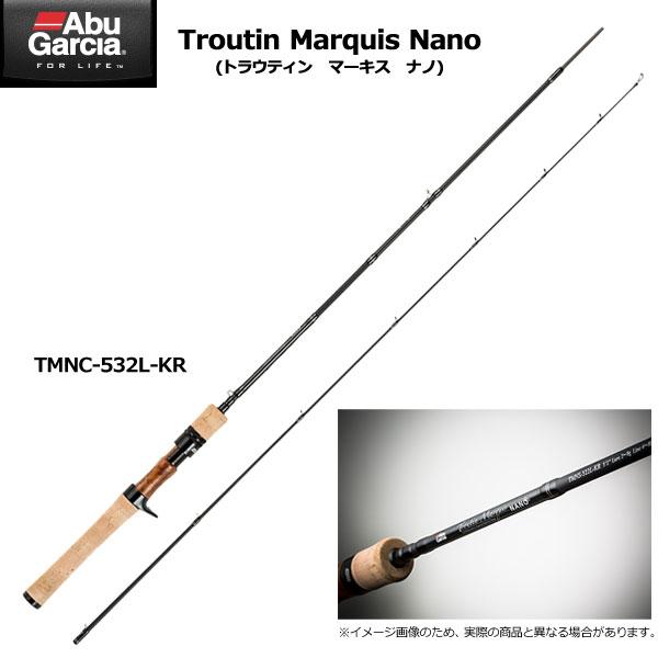 アブガルシア トラウティンマーキス ナノ TMNC-532L-KR