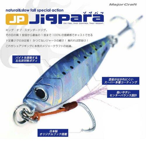 ●メジャークラフトジグパラショートJPS30g【メール便配送可】【まとめ送料割】