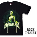 ロックTシャツ 半袖 Metallica Tシャツ メタリカ バンドTシャツ メンズ レディース パロディ Tシャツ おもしろ ロゴ 衣装 ダンス ミュージック ファッション ROCK ブラック 黒 コットン 綿 100% 春夏 夏物 おしゃれ