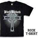 ロックTシャツ 半袖 Black Sabbath Tシャツ ブラックサバス バンドTシャツ メンズ レディース ロックT バンドT バンT ロゴ バンド ロゴT ダンス ミュージック ファッション ROCK ブラック ホワイト 黒 白 ヘヴィメタ コットン 綿 100% 春夏 夏物 おしゃれ