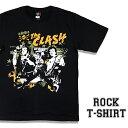 ロックTシャツ 半袖 The Clash Tシャツ クラッシュ バンドTシャツ メンズ レディース ロックT バンドT バンT ロゴ バンド ロゴT ダンス ミュージック ファッション ROCK ブラック ホワイト 黒 白 ヘヴィメタ コットン 綿 100% 春夏 夏物 おしゃれ