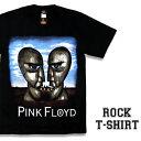 ロックTシャツ 半袖 Pink Floyd Tシャツ ピンクフロイド バンドTシャツ メンズ レディース ロックT バンドT バンT ロゴ 衣装 ロゴT ダンス ミュージック ファッション ROCK ブラック 黒 コットン 綿 100% 春夏 夏物 おしゃれ