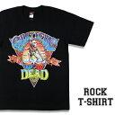 ロックTシャツ 半袖 Grateful Dead Tシャツ グレイトフルデッド バンドTシャツ メンズ レディース ロックT バンドT バンT ロゴ 衣装 ロゴT ダンス ミュージック ファッション ROCK ブラック 黒 コットン 綿 100% 春夏 夏物 おしゃれ