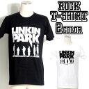 ロックTシャツ 半袖 Linkin Park Tシャツ リンキンパーク バンドTシャツ メンズ レディース ロックT バンドT バンT ロゴ バンド ロゴT ダンス ミュージック ファッション ROCK ブラック ホワイト 黒 白 ヘヴィメタ コットン 綿 100% 春夏 夏物 おしゃれ