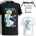 ロックTシャツ 半袖 Metallica Tシャツ メタリカ Tip Scales バンドTシャツ メンズ レディース ロックT バンドT バンT ロゴ 大きいサイズ 衣装 ロゴT ダンス ミュージック ファッション ROCK ブラック ホワイト 黒 白 コットン 綿 100% 春夏 夏物 おしゃれ