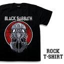 ロックTシャツ 半袖 アメコミ風 Black Sabbath Tシャツ ブラックサバス ガスマスク バンドTシャツ メンズ レディース ロックT バンドT バンT ロゴ 衣装 ロゴT ダンス ミュージック ファッション ROCK ブラック 黒 コットン 綿 100% 春夏 夏物 おしゃれ