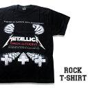 ロックTシャツ 半袖 アメコミ風 Metallica Tシャツ メタリカ バンドTシャツ メンズ レディース ロックT バンドT バンT ロゴ 衣装 ロゴT ダンス ミュージック ファッション ROCK ブラック 黒 コットン 綿 100% 春夏 夏物 おしゃれ