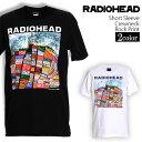 ロックTシャツ 半袖 Radiohead Tシャツ レディオヘッド バンドTシャツ Hail To The Thief メンズ レディース ロックT バンドT バンT ロゴ バンド ロゴT ダンス ミュージック ファッション ROCK ブラック ホワイト 黒 白 ヘヴィメタ コットン 綿 100% 春夏 夏物 おしゃれ