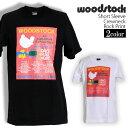Woodstock Festival Tシャツ ウッドストック ロックTシャツ バンドTシャツ 半袖 メンズ レディース かっこいい バンT ロックT バンドT ダンス ロック パンク 大きいサイズ 綿 黒 白 ブラック ホワイト M L XL 春 夏 おしゃれ Tシャツ ファッション
