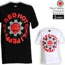 ロックTシャツ 半袖 Red Hot Chili Peppers Tシャツ レッドホットチリペッパーズ バンドTシャツ レッチリ Asterisk メンズ レディース ロックT バンドT バンT ロゴ 衣装 ロゴT ダンス ファッション ブラック ホワイト 黒 白 コットン 綿 100% 春夏 夏物 おしゃれ