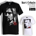 ロックTシャツ 半袖 Kurt Cobain Tシャツ カートコバーン バンドTシャツ Nirvana ニルヴァーナ メンズ レディース ロックT バンドT バンT ロゴ 衣装 ロゴT ダンス ファッ