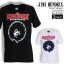 ロックTシャツ 半袖 Jimi Hendrix Tシャツ ジミヘンドリックス バンドTシャツ メンズ レディース ロックT バンドT バンT ロゴ バンド ロゴT ダンス ミュージック ファッション ROCK ブラック ホワイト 黒 白 ヘヴィメタ コットン 綿 100% 春夏 夏物 おしゃれ