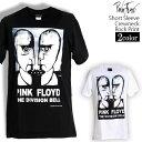 ロックTシャツ 半袖 Pink Floyd Tシャツ ピンク・フロイド バンドTシャツ メンズ レディース ロックT バンドT バンT ロゴ バンド ロゴT ダンス ミュージック ファッション ROCK ブラック ホワイト 黒 白 ヘヴィメタ コットン 綿 100% 春夏 夏物 おしゃれ