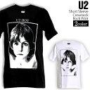 ロックTシャツ 半袖 U2 Tシャツ ユーツー バンドTシャツ メンズ レディース ロックT バンドT バンT ロゴ バンド ロゴT ダンス ミュージック ファッション ROCK ブラック ホワイト 黒 白 ヘヴィメタ コットン 綿 100% 春夏 夏物 おしゃれ