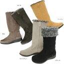 No.474265 クロールバリエ 内側ボア 軽量 2WAY ブーツ (レディース 靴 おしゃれ シューズ 歩きやすい ぺたんこ ローヒール 黒 ウオーキング靴 ウオーキングシューズ 婦人靴 通販 楽天 防寒 寒さ対策 耐滑ソール10P03Dec16