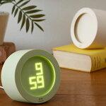 時計「BRUNO」電波イルミネーションアラームクロック