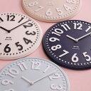 掛け時計「BRUNO」エンボスウォールクロック【時計 壁掛け 時計 壁掛け おしゃれ】