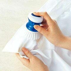 洗濯ブラシ 襟 袖 洗濯洗濯ブラシ/洗剤が入るえりそで洗いブラシ(ブルー)[W-308B]【襟 袖 洗...