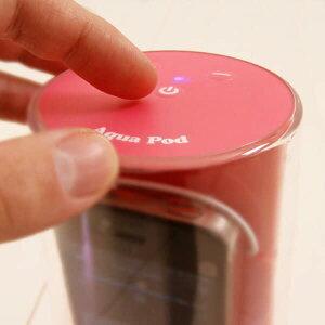 お風呂でも気軽に音楽が楽しめるアンプ内蔵のパワフル防滴スピーカーiPod・iPhone対応/防滴ス...
