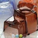 【送料無料】日本製 バスチェアー20H&30H・洗面器「カラリ karali」親子セット(3点)【バスチェア 湯桶 手桶 洗面器 風呂椅子 風呂いす ウォッシュボール ウォッシュボウル クリア 透明 おしゃれ ギフト プレゼント】
