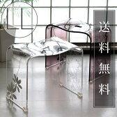 バスチェアー「SARINA2(サリナ2)」(LL)【送料無料 バスチェア アクリル 風呂イス 北欧】