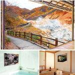 お風呂のポスター「日本の名湯」