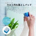 「みがく〜の ウロコ汚れ落としパッド」 鏡メンテナンス用品 ...