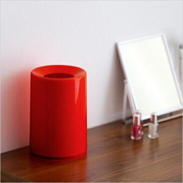 《着後レビューでキッチンタワシ他》 ideaco/イデアコ 「mini TUBELOR(ミニチューブラー)」[1.2L] ホワイト/ブラック/ライトブルー/ネイビー/レッド/ブラウン/グレー 卓上 ゴミ箱 おしゃれ ごみ箱 見えない ゴミ袋 くずかご ダストボックス シンプル デザイン
