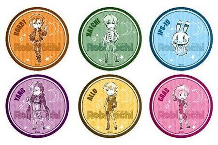 RobiHachi 缶バッジ 02 (グラフアート) 【1BOX】画像