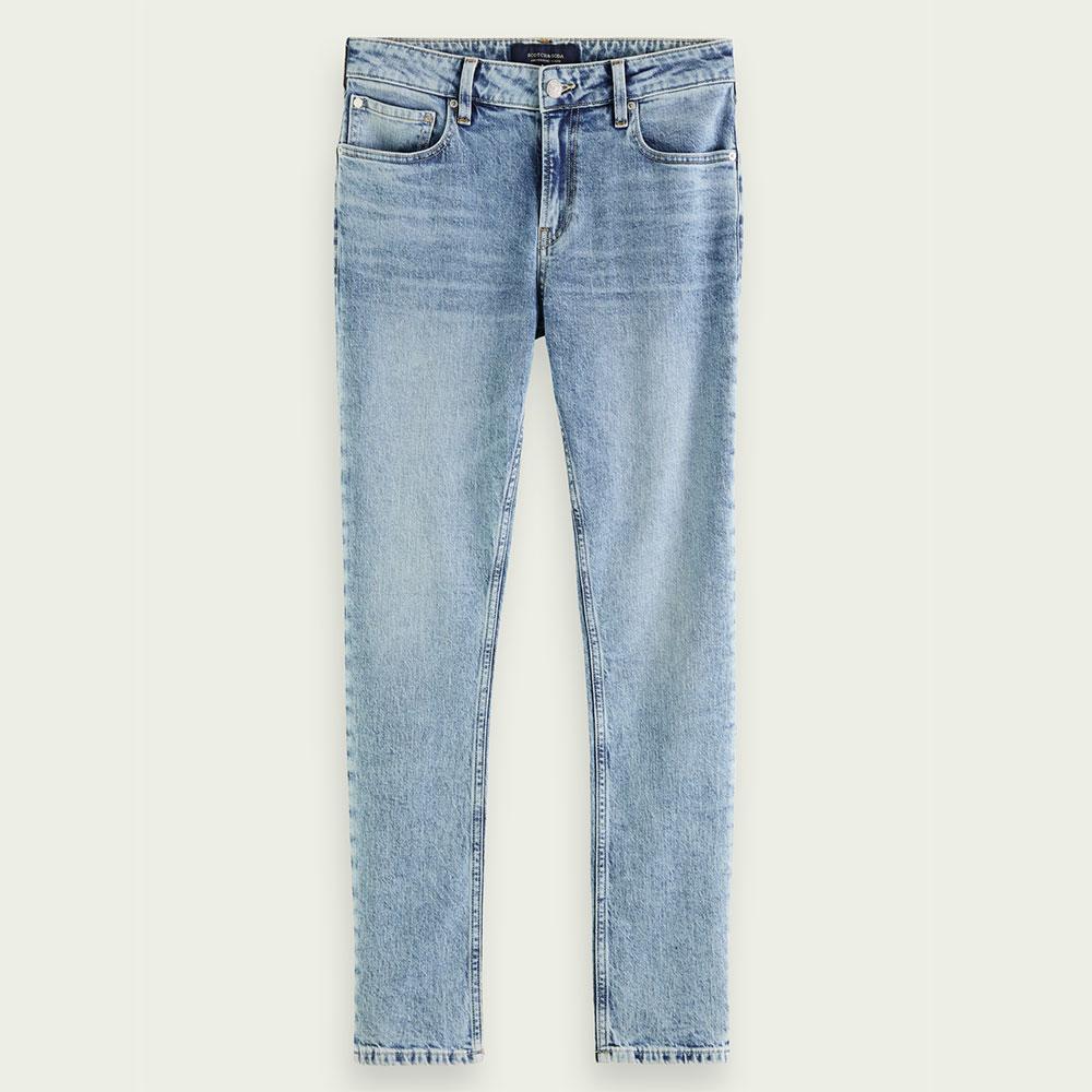 メンズファッション, ズボン・パンツ SCOTCH SODA DENIM JEANS Skim super-slim fit jeans - Timeworn 159613 STREET CASUAL 3,980