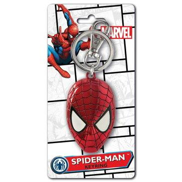 Spider-Man Head Color Filleding Keyringスパイダーマン キーリング
