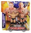 【新発売】WWE アクションフィギュア ファンタジーマッチアップブロック・レスナー Vs. バティスタ
