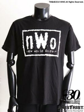 AT×WWE nWo EX-Tシャツ (白)