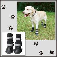 ドッグブーツ肉球保護滑り止め老犬雨の日お散歩ブーツ犬靴介護靴小、中、大型犬ペット夏冬用靴雪にも対応