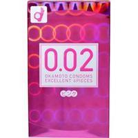 オカモト うすさ均一 0.02 EX (ピンク) 6個入×144個セット 1ケース分  【正規品】:キュー バザール